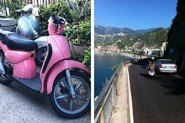Amalfi Coast by Scooter