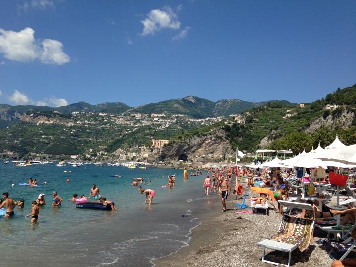 Main beach Maiori
