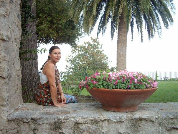 My favourite spot in Ravello - Belvedere Principessa di Piemonte in garden