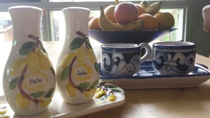 A few more ceramic bits from my kitchen