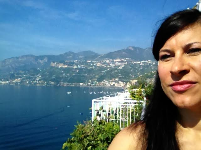 me on the amalfi coast
