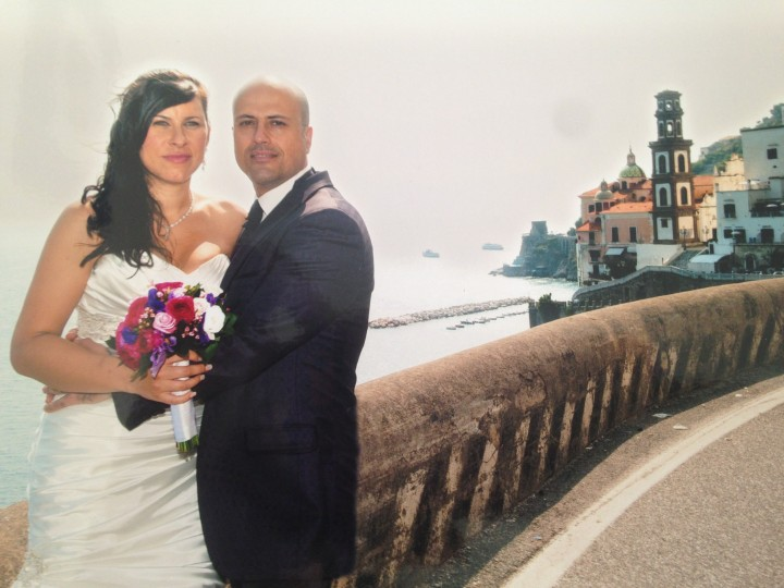 Hubby and I on the Amalfi Coast